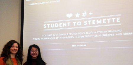 Student to Stemette information session 2015
