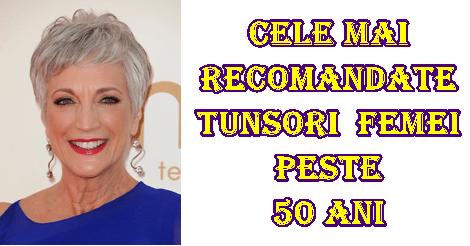 Cele mai recomandate tunsori pentru femeile de peste 50 ani
