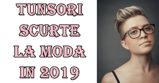 Tunsori scurte pentru femei 2019