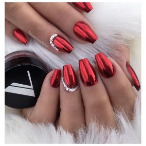 Modele de unghii rosii superbe