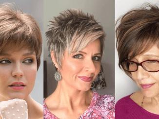 40 tunsori uimitoare pentru părul scurt cu breton pentru 2020 - SteMir
