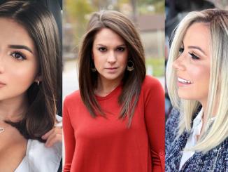 Top 30 tunsori bob lung la modă pentru a arăta mai tânără în 2020 - SteMir
