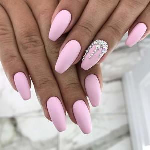 21 modele de manichiură roz, perfecte pentru 2020! - SteMir