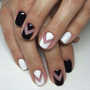 Modele de unghii alb-negru, mereu la modă: 19 modele superbe pentru dvs. - SteMir