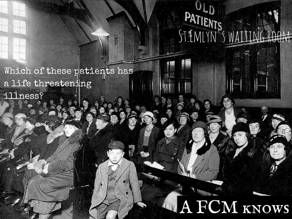 St.Emlyn's waiting room
