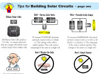 Solar Schoolhouse's Tips for Building Solar Circuits