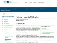 National Institute of Building Science's Natural Hazards Mitigation