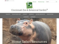 Cincinnati Zoo & Botanical Garden Home Safaris on Facebook Live (Weekdays at 3 pm EDT)