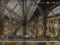 UK Natural History Museum Virtual Tour