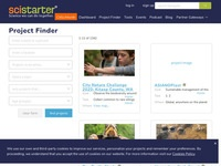 SciStarter Project Finder
