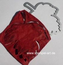 Faux Leather Technique nach StempelART, Vintage Leaves  (16)