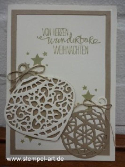 www.stempel-art.de, Am Christbaum, Weihnachtliche Worte