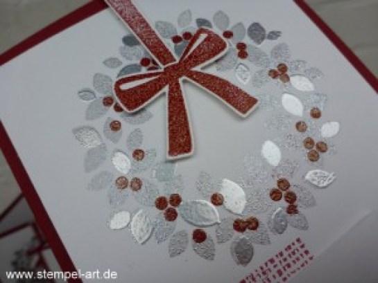 Willkommen Weihnacht nach StempelART, Awesomely Artistic