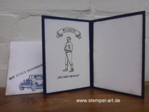 Stampin up, Für ganze Kerle, Hardwood, Männerkarte nach StempelART (2)