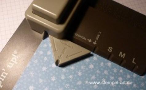 Sternbox mit dem Stampin up Stanz - und Falzbrett für Geschenktüten nach StempelART, bebilderte Anleitung, Tutorial (1)