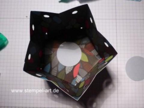 Sternbox mit dem Stampin up Stanz - und Falzbrett für Geschenktüten nach StempelART, bebilderte Anleitung, Tutorial (15)