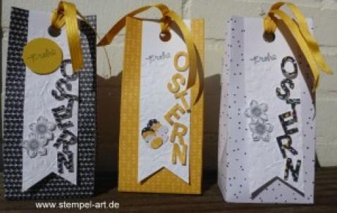 Ostergruß für StempelArt ;-), Stampin up, Beeindruckende Buchstaben, Petit Petals