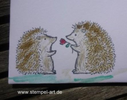 Love You Lots nach StempelART, Stampin up, Abitur, Grüße voller Sonnenschein, Paarweise