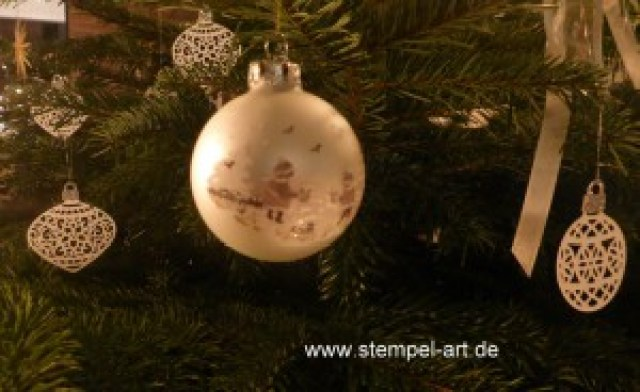 Stampin up Am Christbaum - Baumschmuck nach StempelART (1)