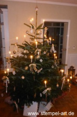 Stampin up Am Christbaum - Baumschmuck nach StempelART (2)