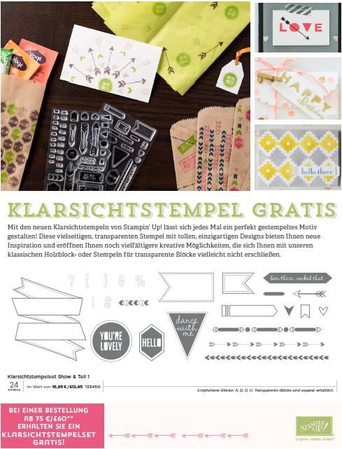 Kleiner Vorgeschmack auf den neuen Stampin' Up! Katalog 2015 (1/2)