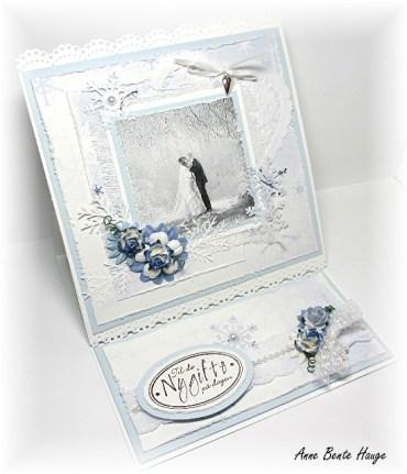 Staffelikort til brudeparet