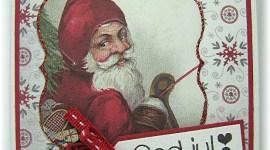 Mini Julekort – kjapt og enkelt