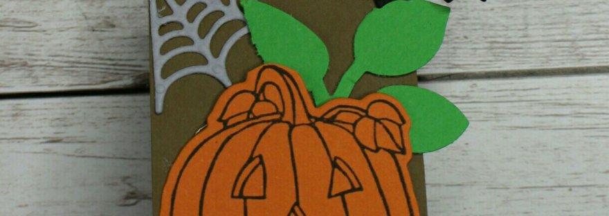 Halloween Verpackung für Lollis. Anleitung ist auf meinem YouTube Kanal