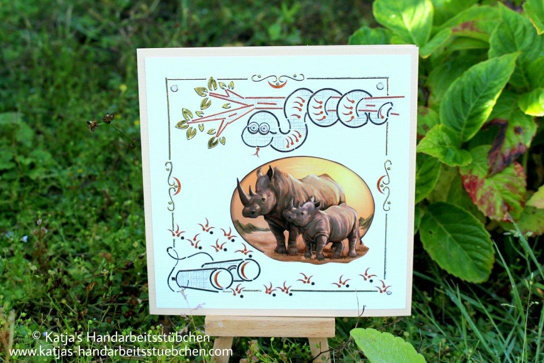 Dot and Do Geburtstagskarte Wildniss Kreativ
