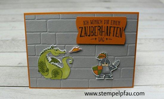 Kindergeburtstag mit dem Stempelset Zauberhafter Tag von Stampin' Up!