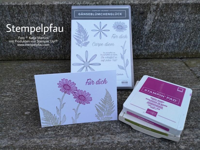 Gänseblümchenglück neues Stempelset von Stampin' Up!