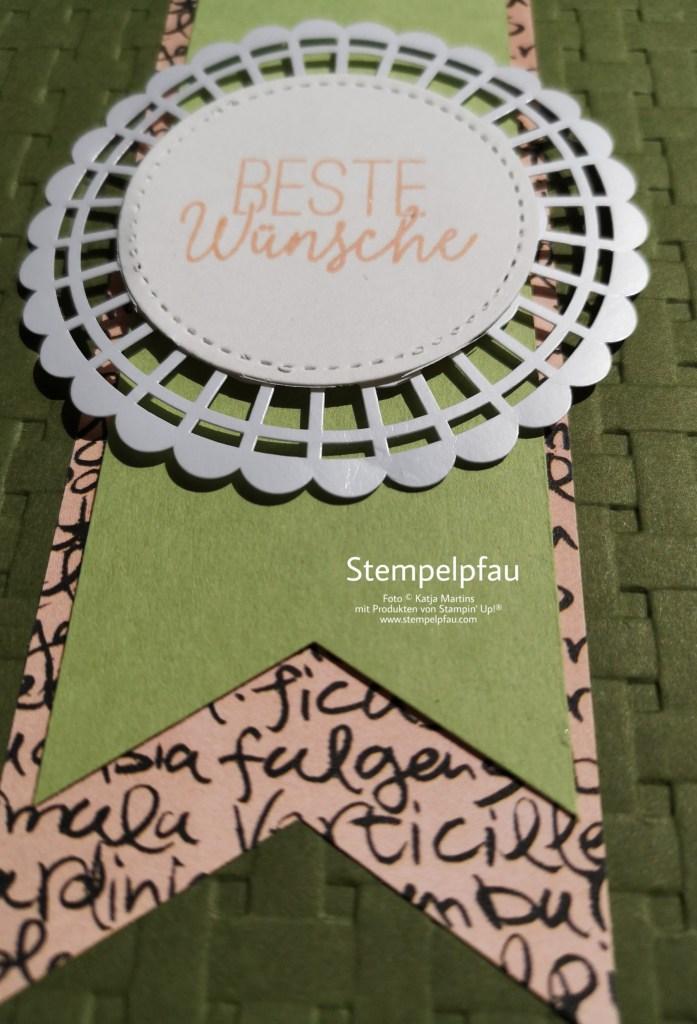 Stempelpfau kreativ mit Stampin' Up!