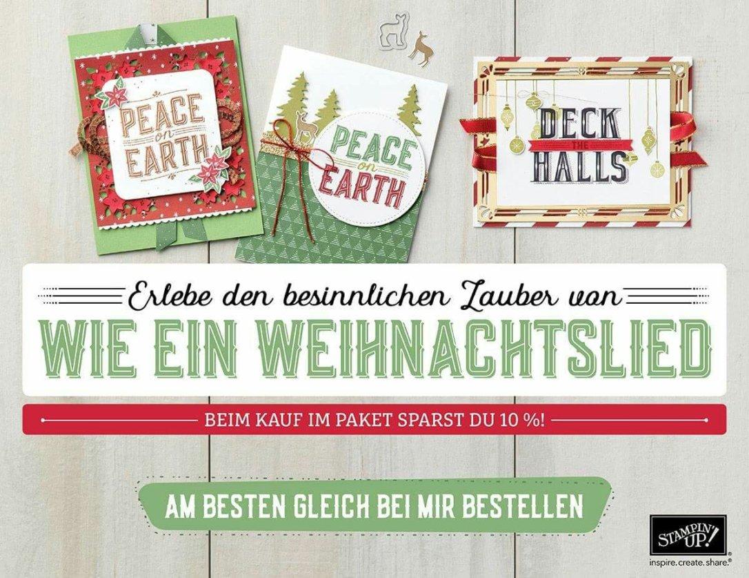Vorverkauf Stampin' Up! Weihnachten