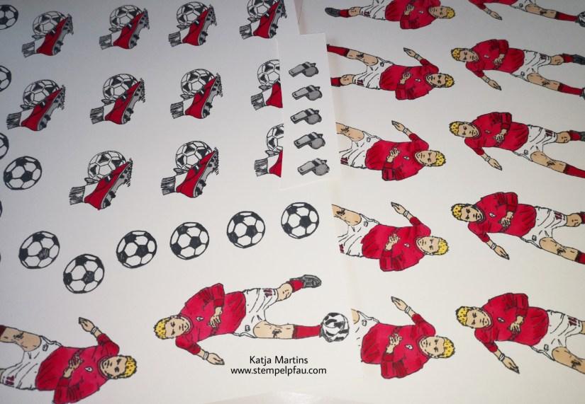 Fußball, Urkunde, BoHo Soccer Cup, Stampin', Up!