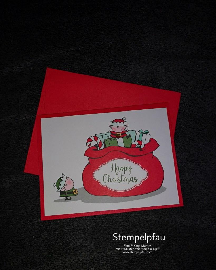 Weihnachtswerkstatt von Stampin' Up! Karte