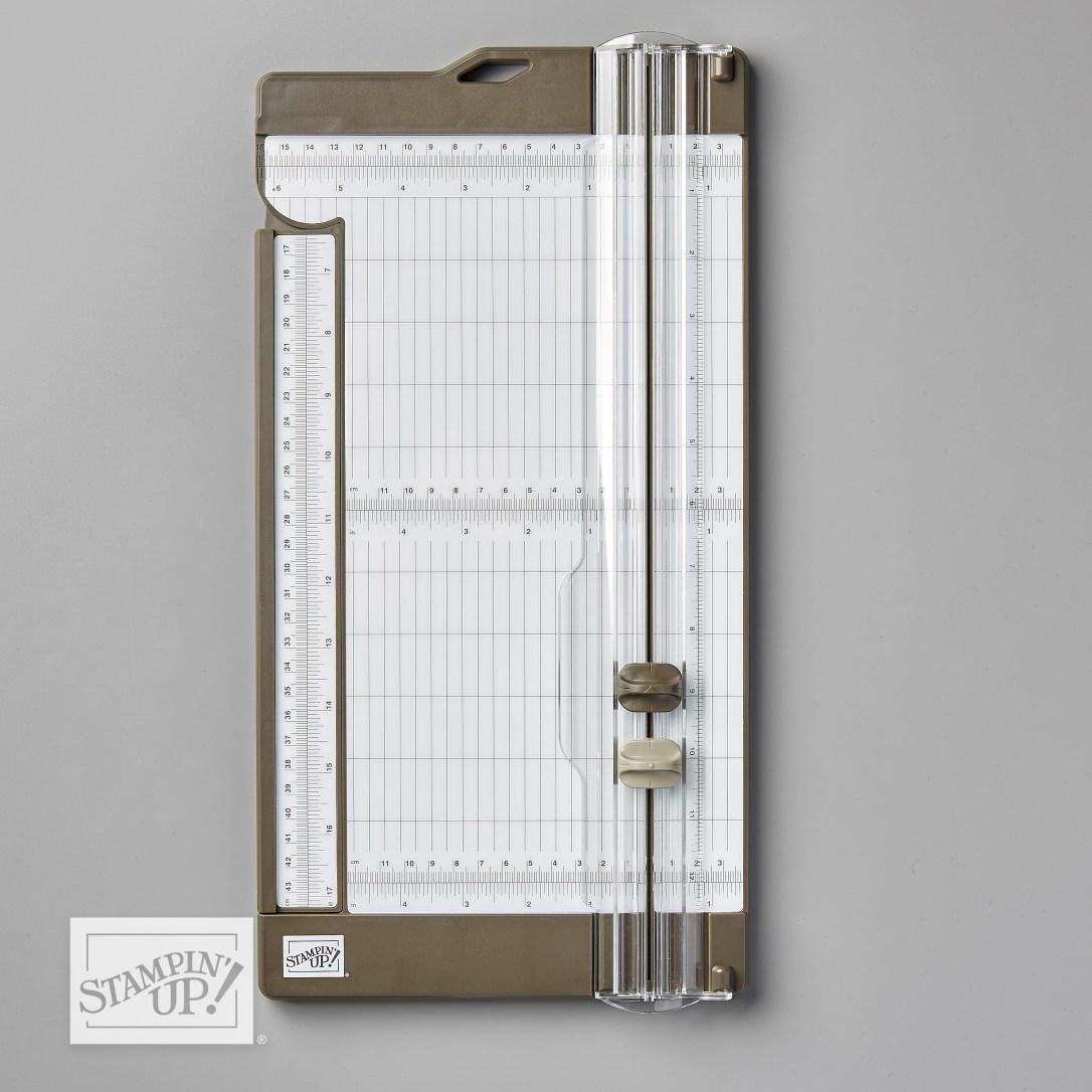 Papierschneider von Stampin' Up!, bestellbar beim Stempelpfau.