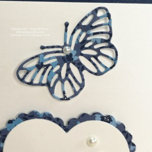 Wie massgeschneidert, Stampin' Up!, Stempelpfau, BlogHop, Schmetterlinge