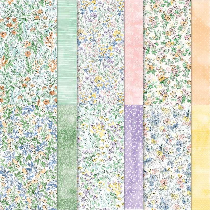 Designerpapier Von Hand gemalt