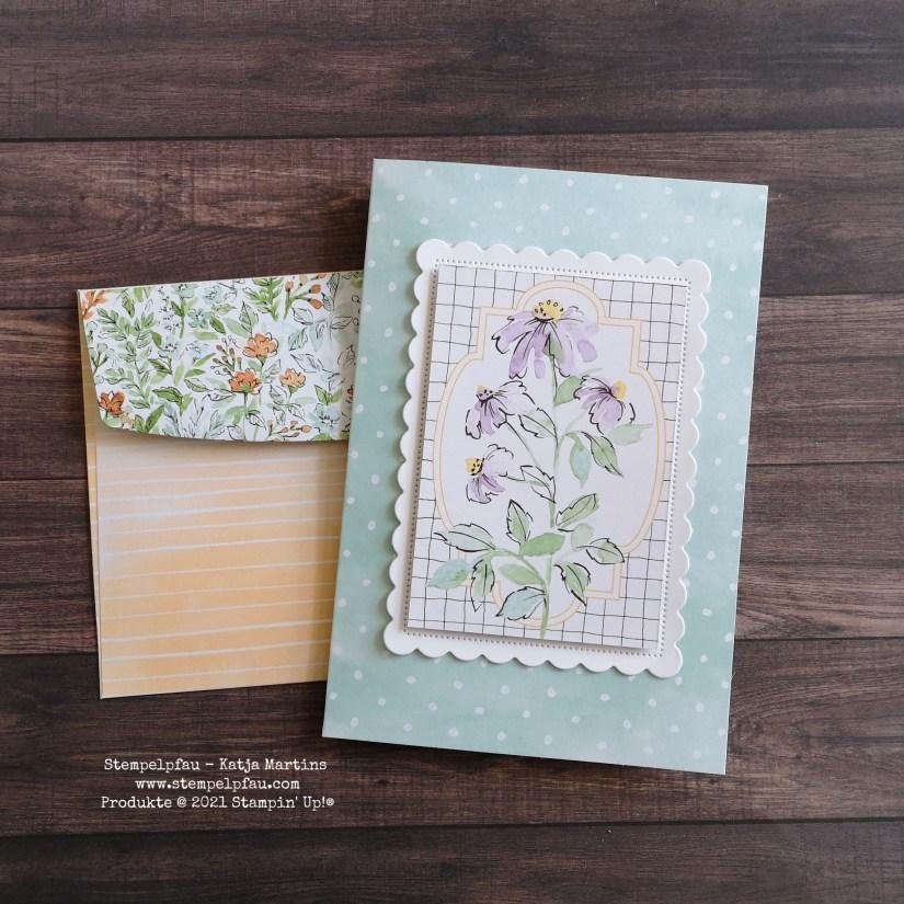 Erinnerungen und Mehr Karten Von Hand gemalt