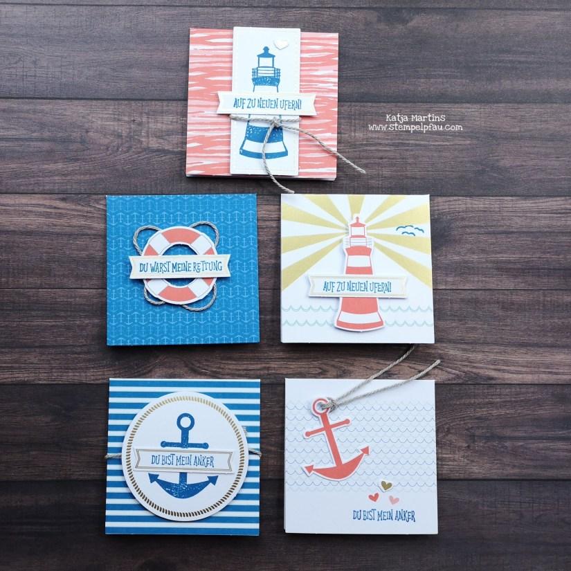 Minikarten aus dem Komplett-Set Mein Anker