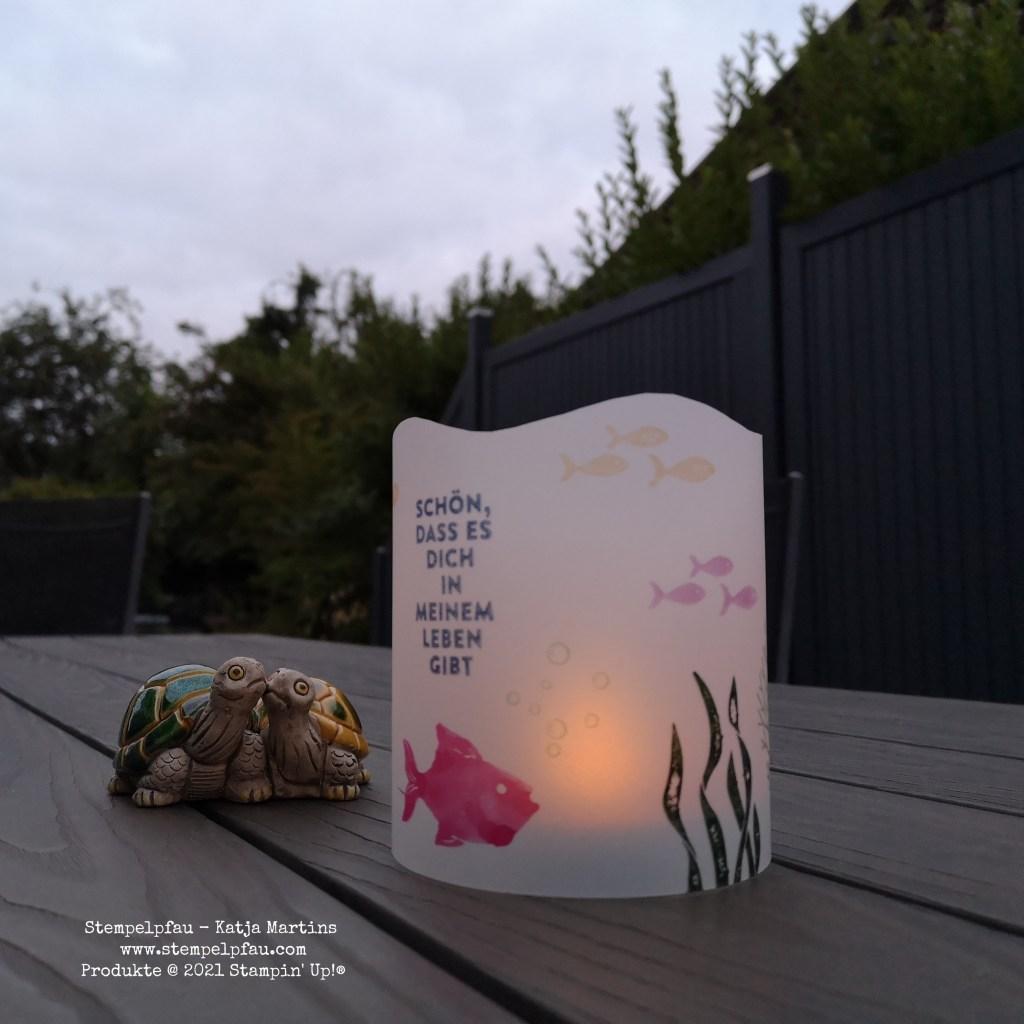 Sommerbrise, Blog-Hop, Stempelpfau