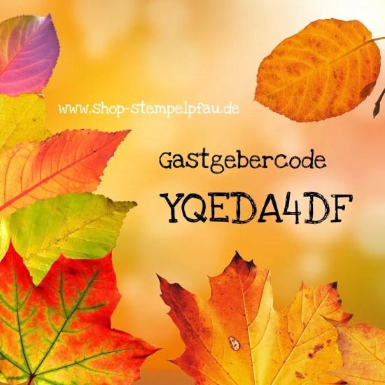 Gastgebercode Oktober
