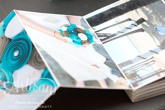 Artisan Design Team Blog Hop  Hochzeitsalbum  Stempelwiese
