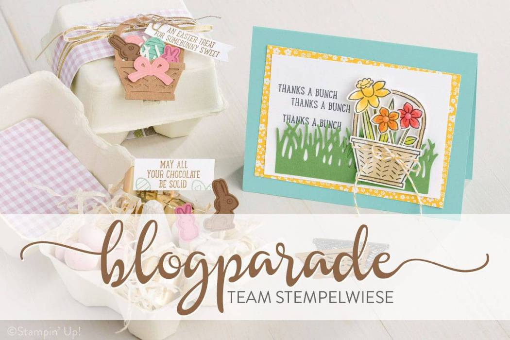 Team Stempelwiese Blogparade April 2017