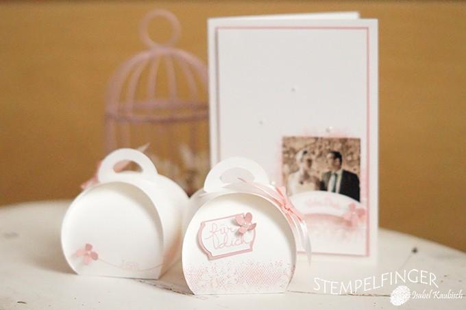 Bastelideen zur Hochzeit  Stempelwiese