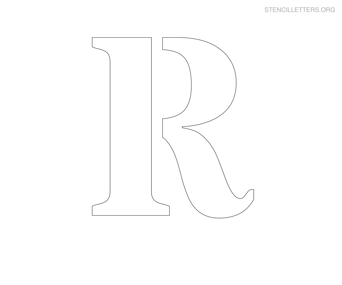 Stencil Letters To Print Out For Free