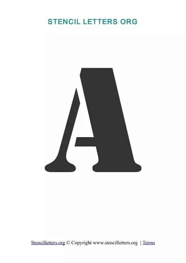 Letter Stenciling Templates | brandforesight co