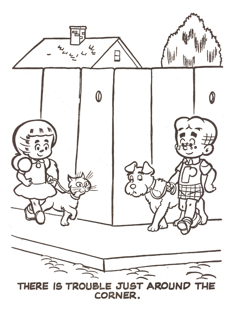 Little Archie Coloring Book Pages (Extended Length