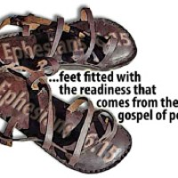 Shoes of Preparation for the Gospel of Peace