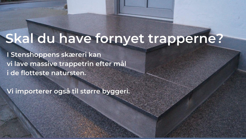 Trapper Og Trappebeklaedning Stenshoppen Dk